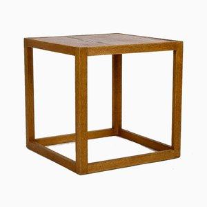Table d'Appoint en Chêne par Kurt Østervig pour Børge Bak, Danemark, années 50