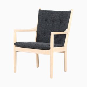 Solid Beech Model 1788 Easy Chair by Hans J. Wegner for Fritz Hansen, 1986