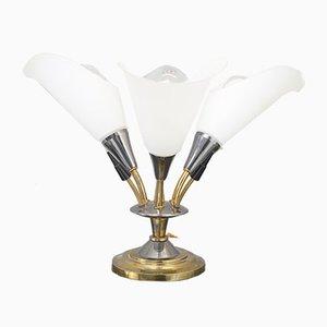 Lampes de Bureau à 3 Bras Mid-Century, années 50, Set de 2