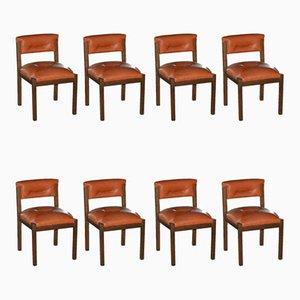 Vintage Esszimmerstühle von Proserpio, 1970er, 8er Set
