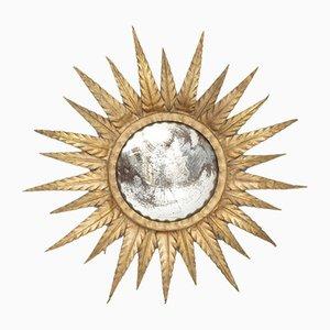 Mid-Century Illuminating Sunburst Mirror, 1960s