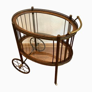 Antique English Bar Cart