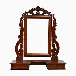 Antique Swedish Swing Mirror, 1800s