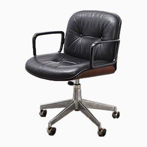 Chaise de Bureau Mid-Century en Palissandre par Ico Parisi pour MIM, années 50
