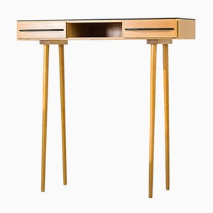 Opaxit Glass Console Table, 1960s