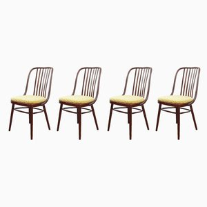 Mid-Century Dining Chairs by Antonín Šuman for TON, 1960s, Set of 4