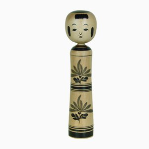 Kokeshi Sculpture by Mamiya Mistaro, 1960s