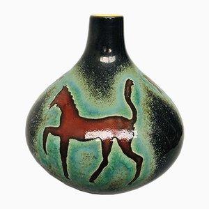 Vaso nr. 509/18 Mid-Century in ceramica di Foreign, anni '50