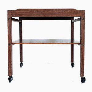 Mid-Century Rosewood Trolley by Severin Hansen for Haslev Møbelsnedkeri