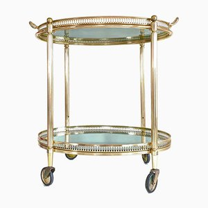 Vintage French Serving Trolley, 1940s
