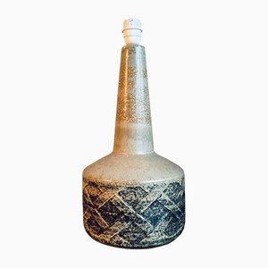 Große dänische Mid-Century Tischlampe aus Keramik von Søholm, 1960er