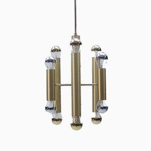 Mid-Century Brass Sputnik Ceiling Lamp, 1960s