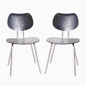 Model TF05 Dining Chairs by Kurt Felkel for Thonet, 1950s, Set of 2