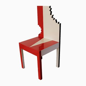 French Model Piranha Side Chair from Pierre Sala, 1982