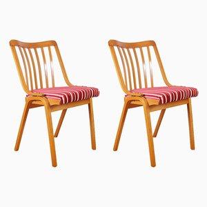 Czechoslovakian Dining Chairs by Antonín Šuman for TON, 1967, Set of 2