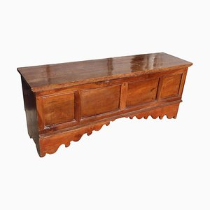 Antique Walnut Blanket Chest