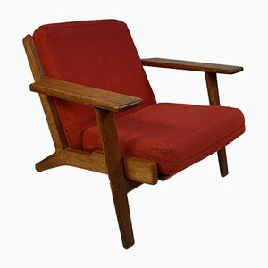 Mid-Century Lounge Chair by Hans J. Wegner for Getama, 1950s