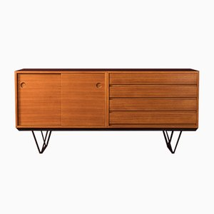 German Teak Veneered Sideboard, 1960s