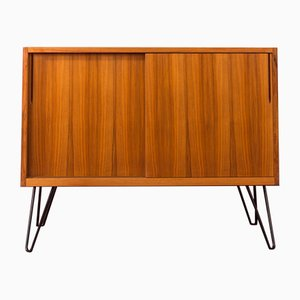 German Walnut Veneered Dresser, 1950s
