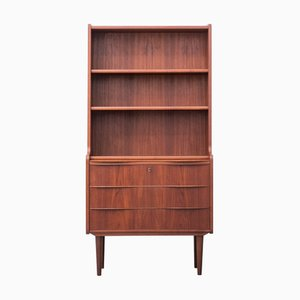 Danish Laminated Teak Secretaire, 1960s