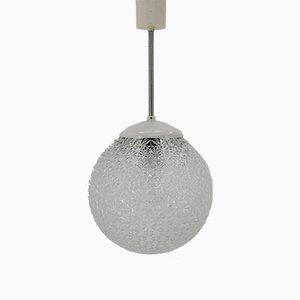 Lampada Mid-Century in vetro, anni '60
