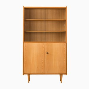 Ash Veneered Display Cabinet, 1960s