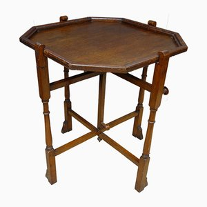 Oak Folding Game Table from Revertable United Kingdom, 1930s