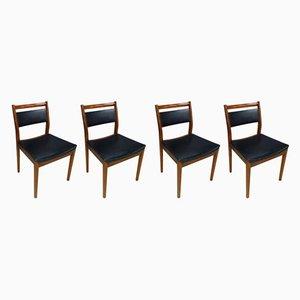 Mid-Century Esszimmerstühle von G Plan, 1970er, 4er Set