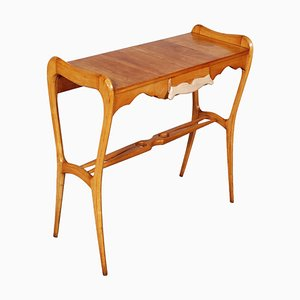 Mid-Century Maple Console Table by Ico Parisi for La Permanente Mobili Cantu, 1950s