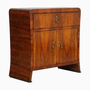 Italienisches Art Déco Sideboard aus Nussholz von Augusto Borsani für Atelier di Varedo, 1930er