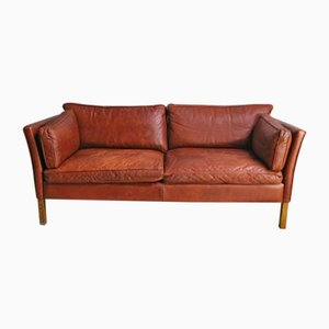 Large Mid-Century Danish 2-Seater Sofa from Stouby, 1970s
