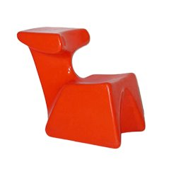 Vintage Child's Chair by Luigi Colani for Top System, 1972