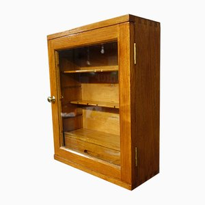 Vintage Post Office Wall Cabinet, 1920s