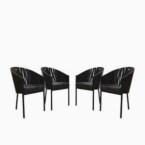Modell Costes Esszimmerstühle von Philippe Starck für Driade, 1990er, 4er Set