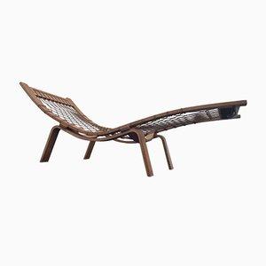 Chaise longue modelo Hammock de Hans Wegner para Getama, años 60