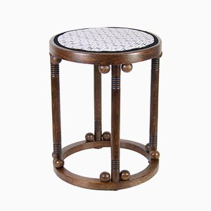 Antique Nr. 620 Stool by Josef Hoffmann for Jacob & Josef Kohn, 1900s