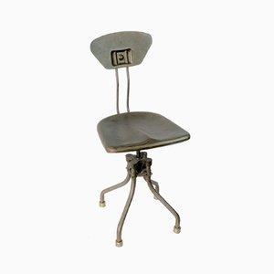 Chaise Pivotante Modèle M42 Industrielle Vintage par LIBER pour Flambo, 1930s