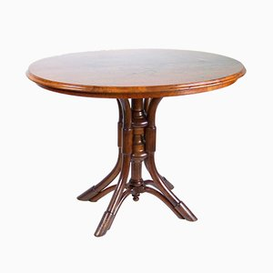 Tavolo da pranzo nr. 56 antico di Michael Thonet per Thonet, fine XIX secolo