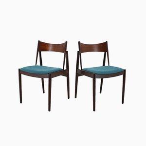 Dänische Esszimmerstühle aus Teak von Vamø, 1960er, 4er Set