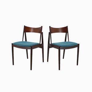 Danish Teak Dining Chairs from Vamø, 1960s, Set of 4