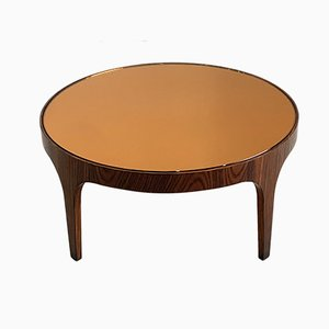 Tavolino da caffè in palissandro di Max Ingrand per Fontana Arte, anni '50