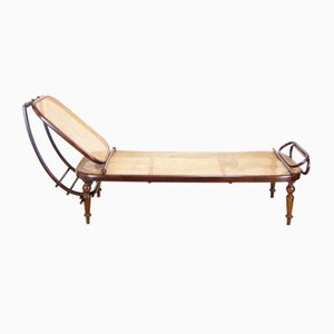 Antique Chaise Lounge by Michael Thonet for Thonet, 1870s