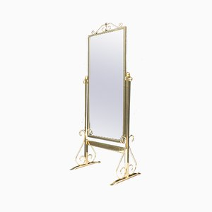 Hollywood Regency Adjustable Standing Mirror by Ilse Möbel for Vitra, 1960s