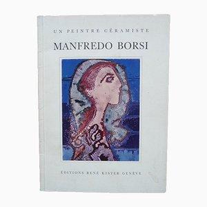 Litografia Couple à l'enfant di Manfredo Borsi, anni '50