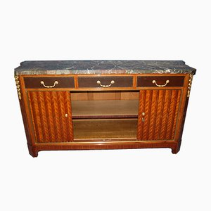 Antique Louis XIV Style Inlaid Buffet