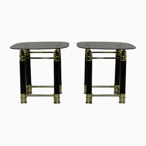 Brass Nightstands, 1970s, Set of 2