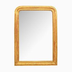 Espejo de pared antiguo dorado