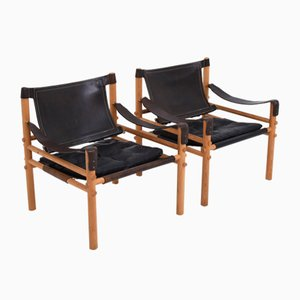 Sirocco Easy Chairs by Arne Norell for Arne Norell AB, 1960s, Set of 2