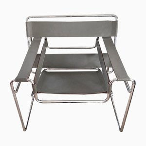 Mid-Century Wassily Armchair by Marcel Breuer for Knoll