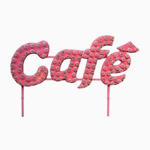 Vintage Café Neonschild
